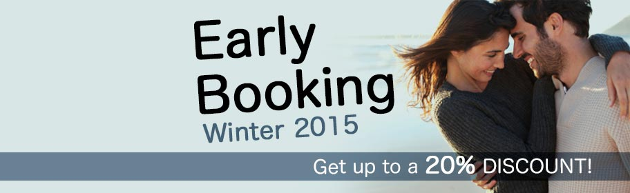 Early booking 2015 -20%