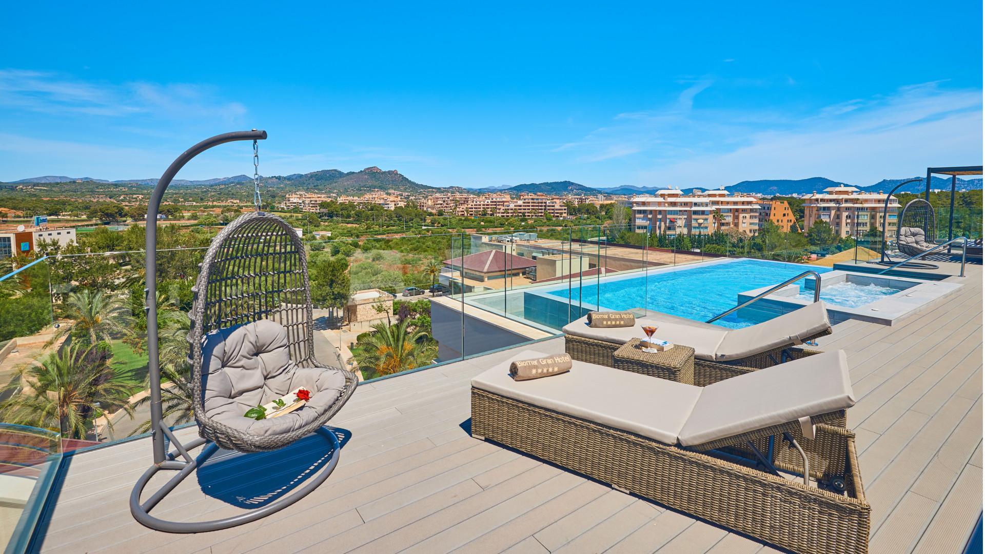 Habitacion Junior Suite Premium Jacuzzi Protur Biomar Gran Hotel Spa
